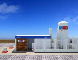 #28 para 3D design of a LCNG station for Energy Company por virtualjunction4
