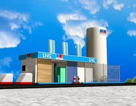#14 , 3D design of a LCNG station for Energy Company 来自 tahsinnihan
