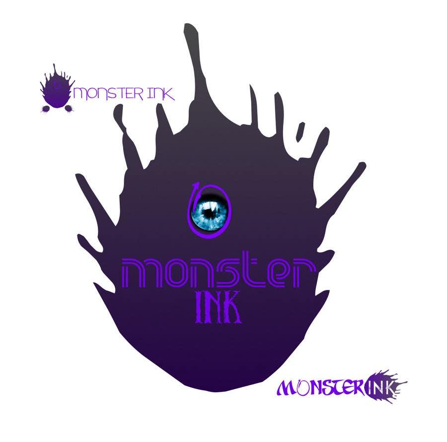 Inscrição nº                                         189                                      do Concurso para                                         Logo Design for Monster Ink