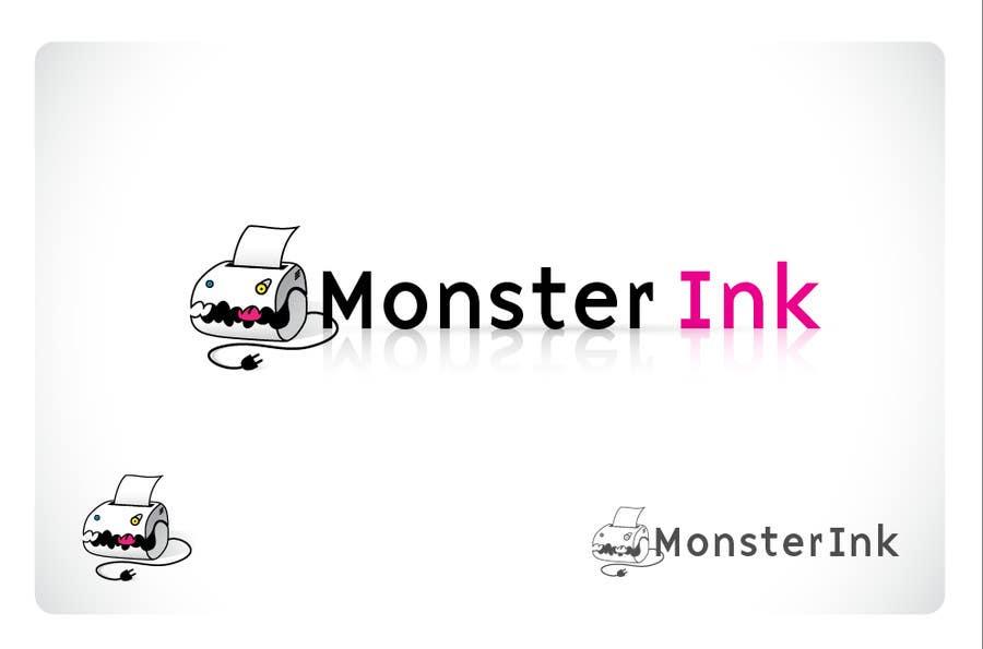Inscrição nº                                         90                                      do Concurso para                                         Logo Design for Monster Ink