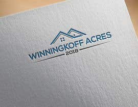 "#141 for Logo Design contest for a small hobby farm. Farm is called ""Winningkoff Acres"" and would like to include established date - 2018 by CreativeRashed"