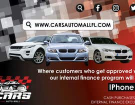 #12 for Create a promotion ad. artwork for Cars auto mall Florida af parulgupta549