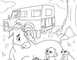 Nro 9 kilpailuun Illustration for kids story book käyttäjältä LeonardoLLB