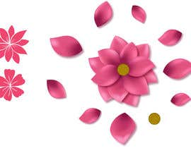 #11 untuk I need some graphics designed - individual flower petals with square base on bottom for svg / flower project oleh juancorrea2902