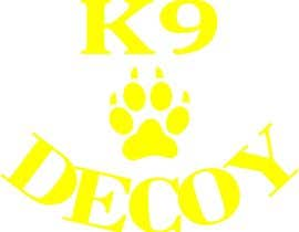 "#4 for I need a design that will be used for a tshirt. The logo should be in rhe center on the front side of the shirt   I need the word ""Decoy""  designed using the equipment used foe Decoying foe woeking k9's by AlleyKatz8"