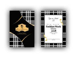 #97 cho Design Invitation Letter to New Fashion Week Show bởi siambd014