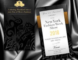 Design Invitation Letter to New Fashion Week Show