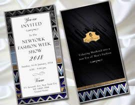 #102 cho Design Invitation Letter to New Fashion Week Show bởi adesign060208
