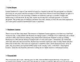 Nro 4 kilpailuun Compile a list 5 Cold cases that were solved by instageam käyttäjältä RakibIslam11225