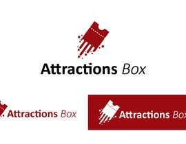 #232 for Attractions Box Logo Design af fernandowork