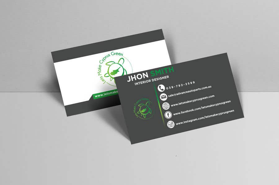 Entry #75 by Ansarulislam1214 for Business Card Design For Eco ...