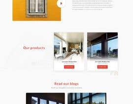 Nro 4 kilpailuun Design a Website Mockup for Solar Protection - Homepage Only käyttäjältä abirmahmood