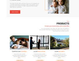 Nro 5 kilpailuun Design a Website Mockup for Solar Protection - Homepage Only käyttäjältä saidesigner87