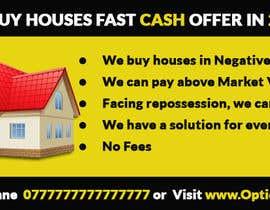 Nro 2 kilpailuun Design a Flyer for Sell my house fast käyttäjältä ideafactory421