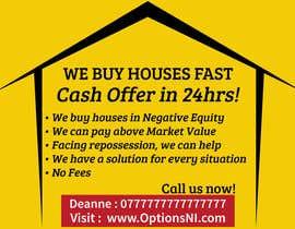 Nro 10 kilpailuun Design a Flyer for Sell my house fast käyttäjältä mufzilkp