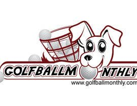 #64 para Logo Design for golfballmonthly.com por royind