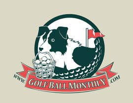#117 para Logo Design for golfballmonthly.com por OtherWorldMedia