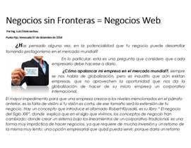 IngLuis85 tarafından Necesito un articulo para proponer un servicio için no 39