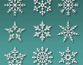 #6 for Design 3 snowflakes by mehfuz780