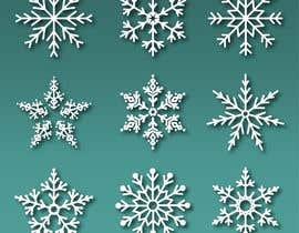 #6 für Design 3 snowflakes von mehfuz780