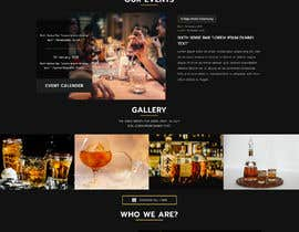 #43 for Create a website design for a whiskey bar by sultanopu4