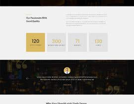 #41 for Create a website design for a whiskey bar by Batto14