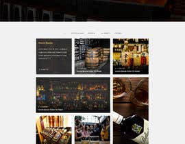 #51 for Create a website design for a whiskey bar by Batto14