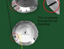 #35 pentru Design for golf ball markers like watch case de către gochat89