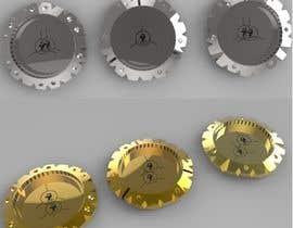 #43 pentru Design for golf ball markers like watch case de către gochat89