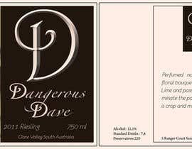 #21 para Wine Label for Dangerous Dave por Ni200306