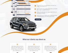 #63 for Design a Website Mockup for a Car Website by pixelwebplanet