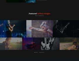#3 for design a website for a musical artist by aritsolutionbd