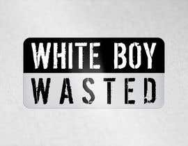 Nro 16 kilpailuun I need logo designed for a campaign called 'White Boy Wasted' stylized create good energy and fun! The term means having  too much to drink and partying like a rockstar.  I want the logo to also maintain adult level of professionalism. Thank you. käyttäjältä dikacomp
