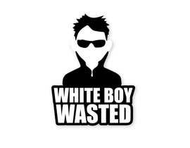 Nro 19 kilpailuun I need logo designed for a campaign called 'White Boy Wasted' stylized create good energy and fun! The term means having  too much to drink and partying like a rockstar.  I want the logo to also maintain adult level of professionalism. Thank you. käyttäjältä parulgupta549