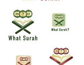#44 cho I Need a Logo Designed For A mobile App Called What Surah bởi eaumart