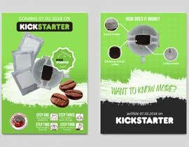 Nro 45 kilpailuun Flyer Design A6 for Kickstarter Campaign käyttäjältä Nanara