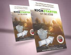 Nro 37 kilpailuun Flyer Design A6 for Kickstarter Campaign käyttäjältä Louiegi
