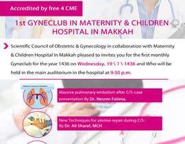 nº 5 pour Design a Brochure for 1st GyneClub In Maternity & children hospital in Makkah par xdkhacker