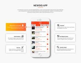 nº 3 pour Design and Build a Website for a News App par webmastersud