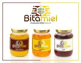 #84 para Design a logo for a Honey brand- Diseñar un logo para una marca de miel de rusbelyscastillo
