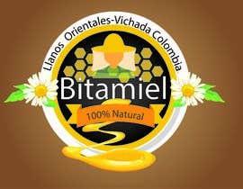 #133 para Design a logo for a Honey brand- Diseñar un logo para una marca de miel de moowin1024