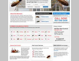 #30 para Website Design for All Star Pest Control por pris