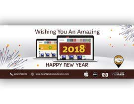 #62 for Design 2018 New Year Facebook Cover Page by siambd014