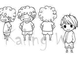 #26 untuk Illustrate Four Characters as part of a series oleh KalingWong