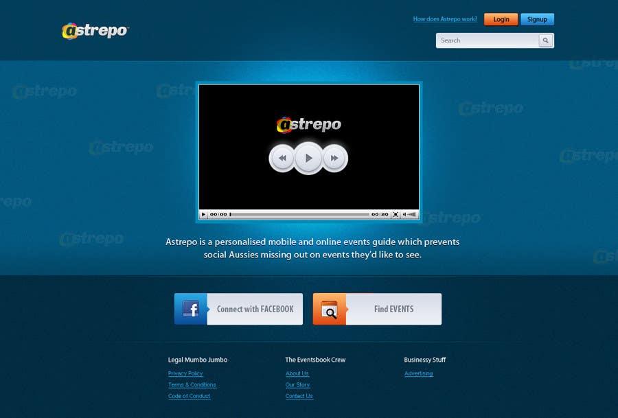 Konkurrenceindlæg #                                        2                                      for                                         Website Design for Astrepo