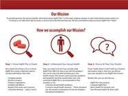 """Graphic Design Kilpailutyö #16 kilpailuun Graphic Design for """"how we accomplish our mission"""" of www.knowvigrxplusbetter.com"""