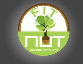#215 para Logo Design for Cool Nut/Fit Nut por NeOLiO