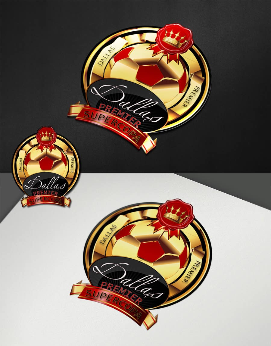 #294 for Logo Design for Dallas Premier Supercopa by SergioLopez
