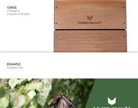 """Nro 183 kilpailuun Corporate identity for Brand """"Martenbrown®"""" käyttäjältä xsanjayiitr"""