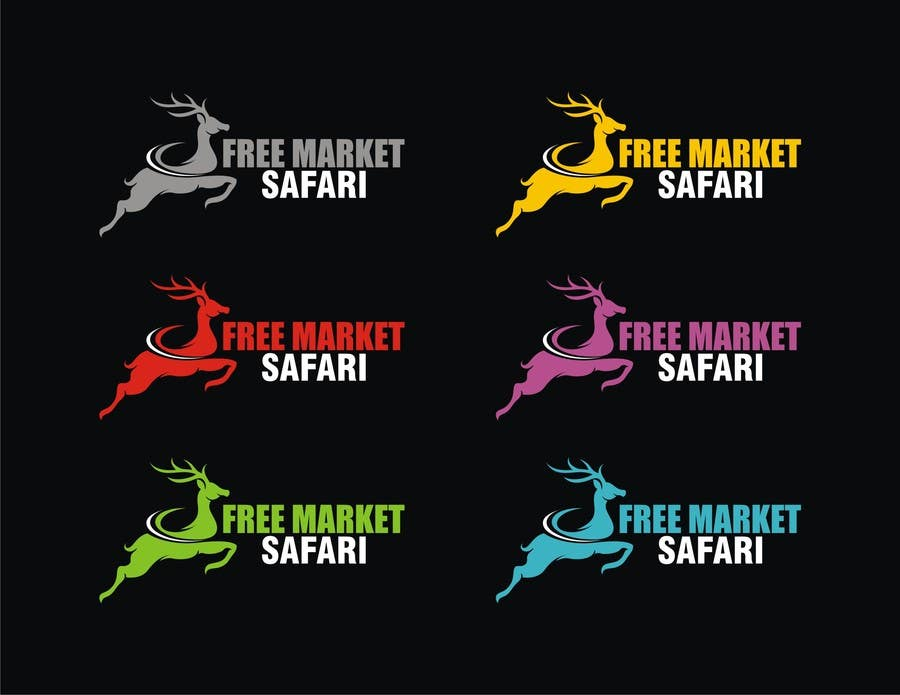 #556 for Logo Design for Free Market Safari by vidyag1985